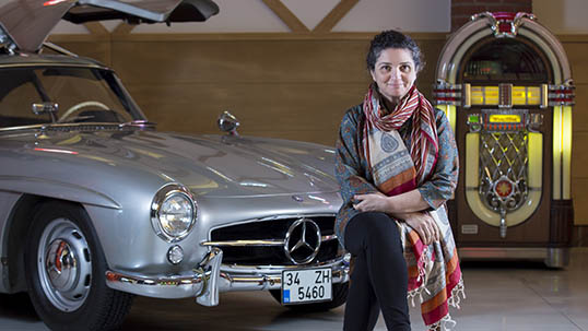 Mercedes Gullwing produced in limited numbers and one of Ayşe Ataman's favorites