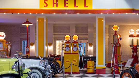1950s gas station, Key Museum
