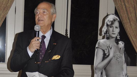 Şerif Antepli, Greata Garbo in Pera Palace after 92 Years exhibition