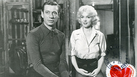 Yves Montand ve Marilyn Monroe - Stamp & Envelope collection
