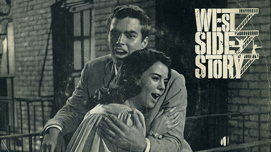 West Side Story soundtrack record cover