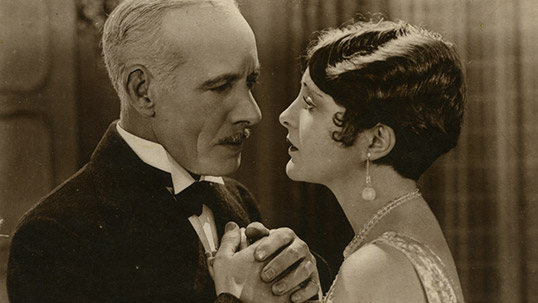 Billie Dove ve Lewis Stone post card