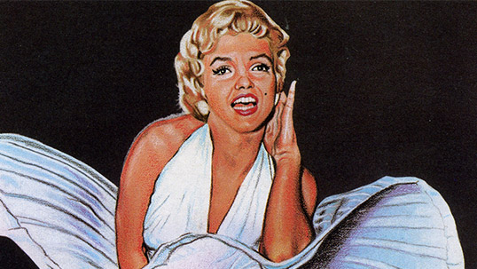 The Seven, Marilyn Monroe - Stamp & Envelope collection