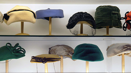 Hats used in the 1940s