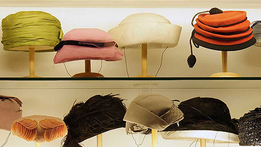 Hats used in the 1970s