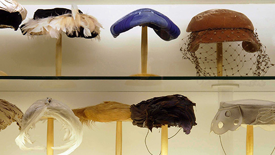 Hats used in the beginning of the 1920s