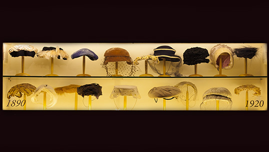 Vintage hats from the 1890s to 1920s